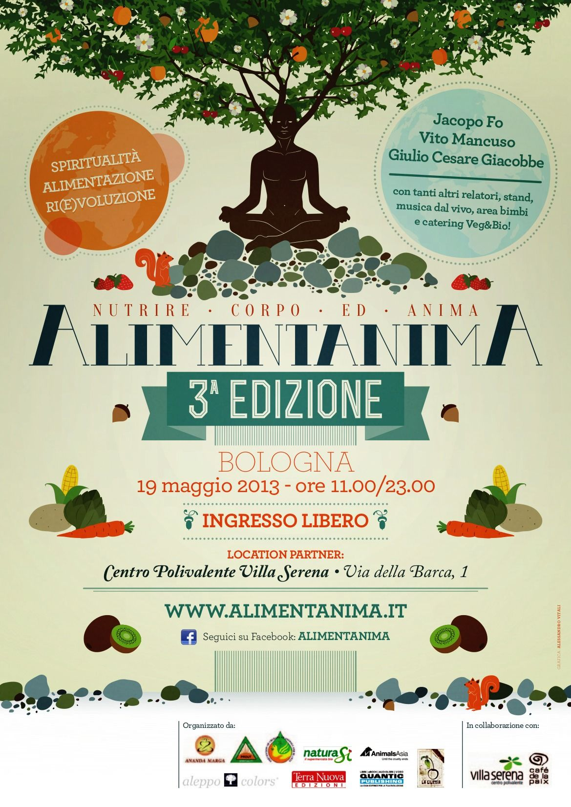 ALIMENTANIMA 2013 Accademia Gnostica Bologna Bologna