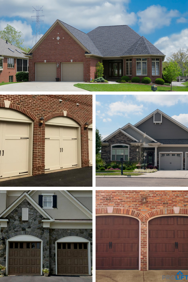 Pro Tip Are You Trying To Decide What Color Of Garage Door Looks Best With A Brick Home Want The Painted Brick House Garage Door Colors Custom Garage Doors