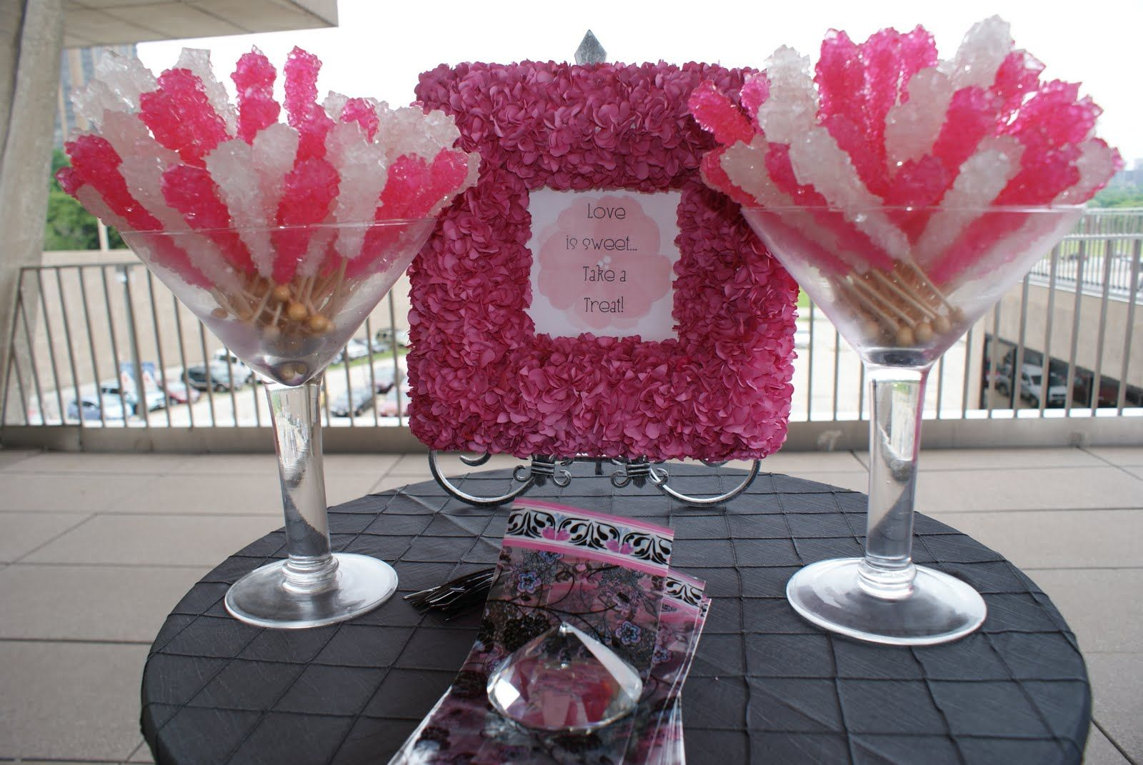 Rockcandythemedwedding Rock Candy As Favorsassic And