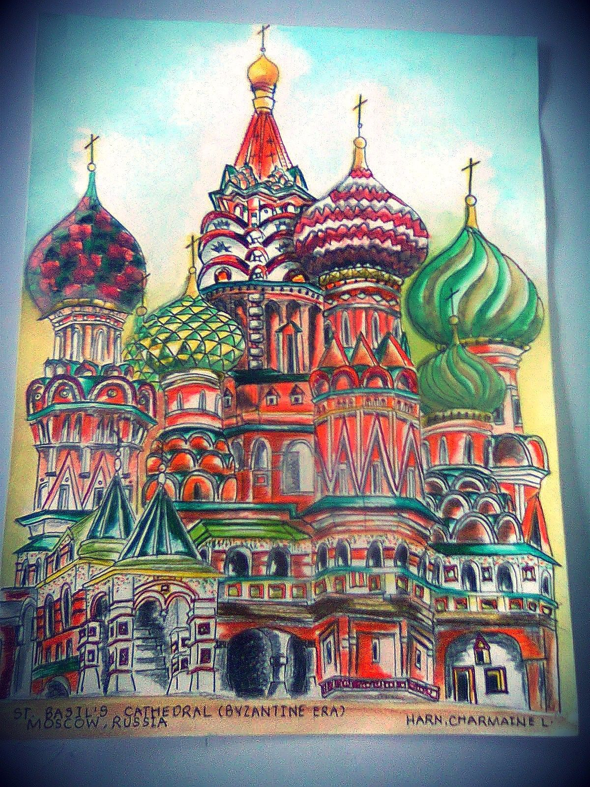 How to Draw the Kremlin, Moscow Kremlin, Saint Basil Cathedral ...