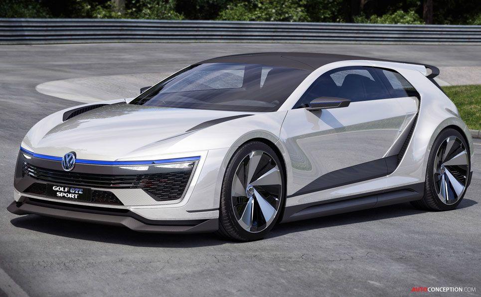 Volkswagen Golf Gte Sport Concept Unveiled With 395 Bhp Hybrid Engine Concept Cars Volkswagen Golf Volkswagen