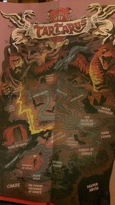 Map of Tartarus The illustrated map is included if you bought HoH
