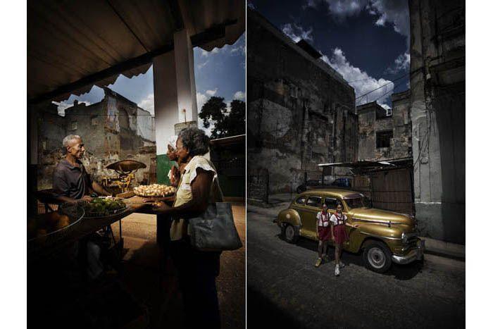 Marcello Bonfanti - PHOTOGRAPHER - Havana #Havana #Cuba #market #cadillac