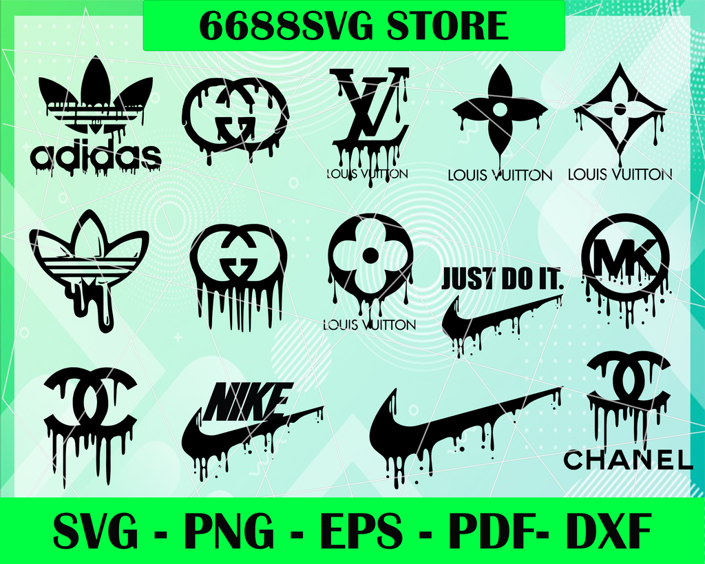 Designer logo bundle svg, Stylized fashion designer