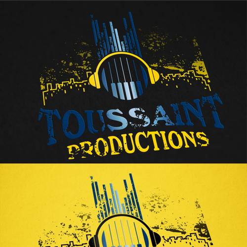 Toussaint Productions Create A Modern Music Logo And Website To Inspire Music You Can Feel Showcasing My Music Talent Internet Logo Music Logo Modern Music