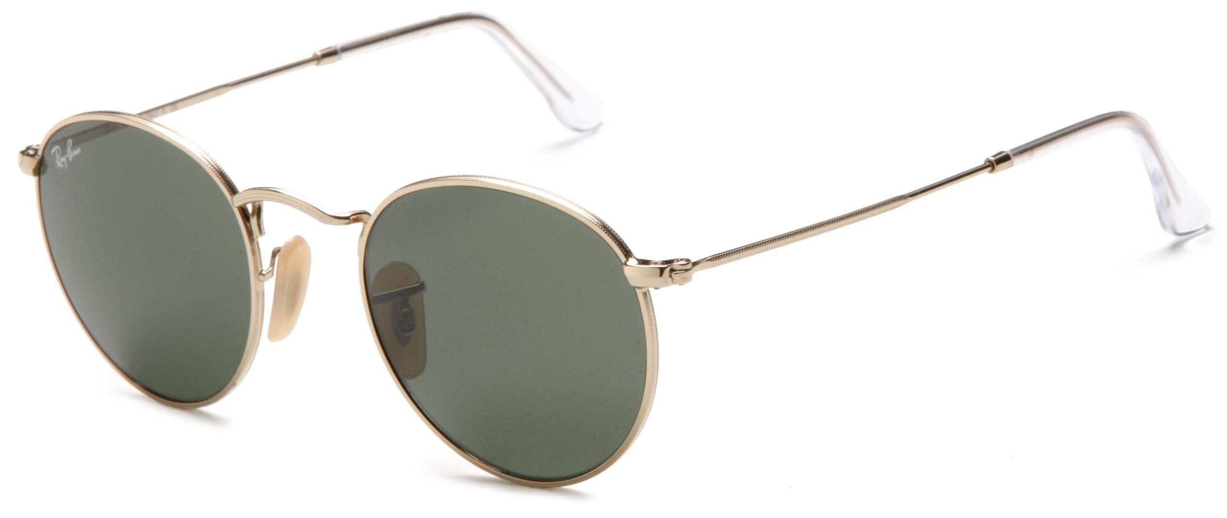 bdbb4abe44 Ray-Ban ORB3447 001 Round Sunglasses