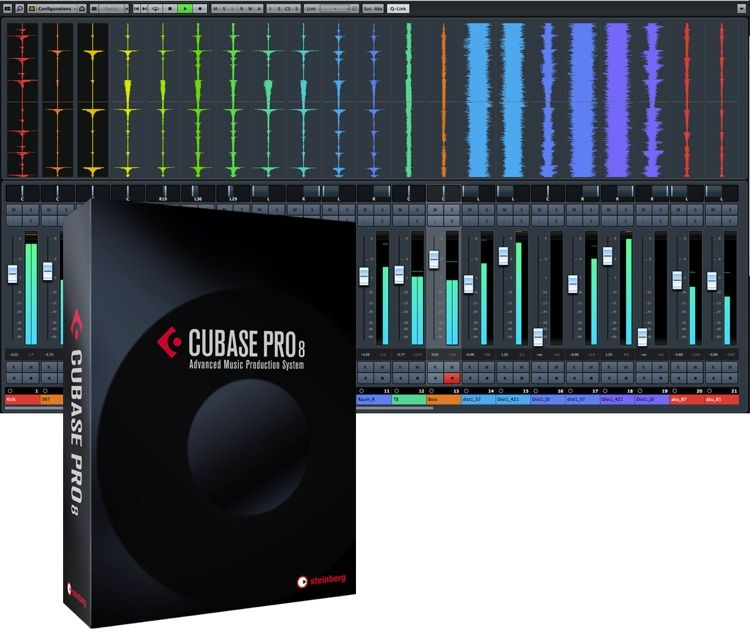 Steinberg Cubase Pro 8 DAW Recording Software (boxed