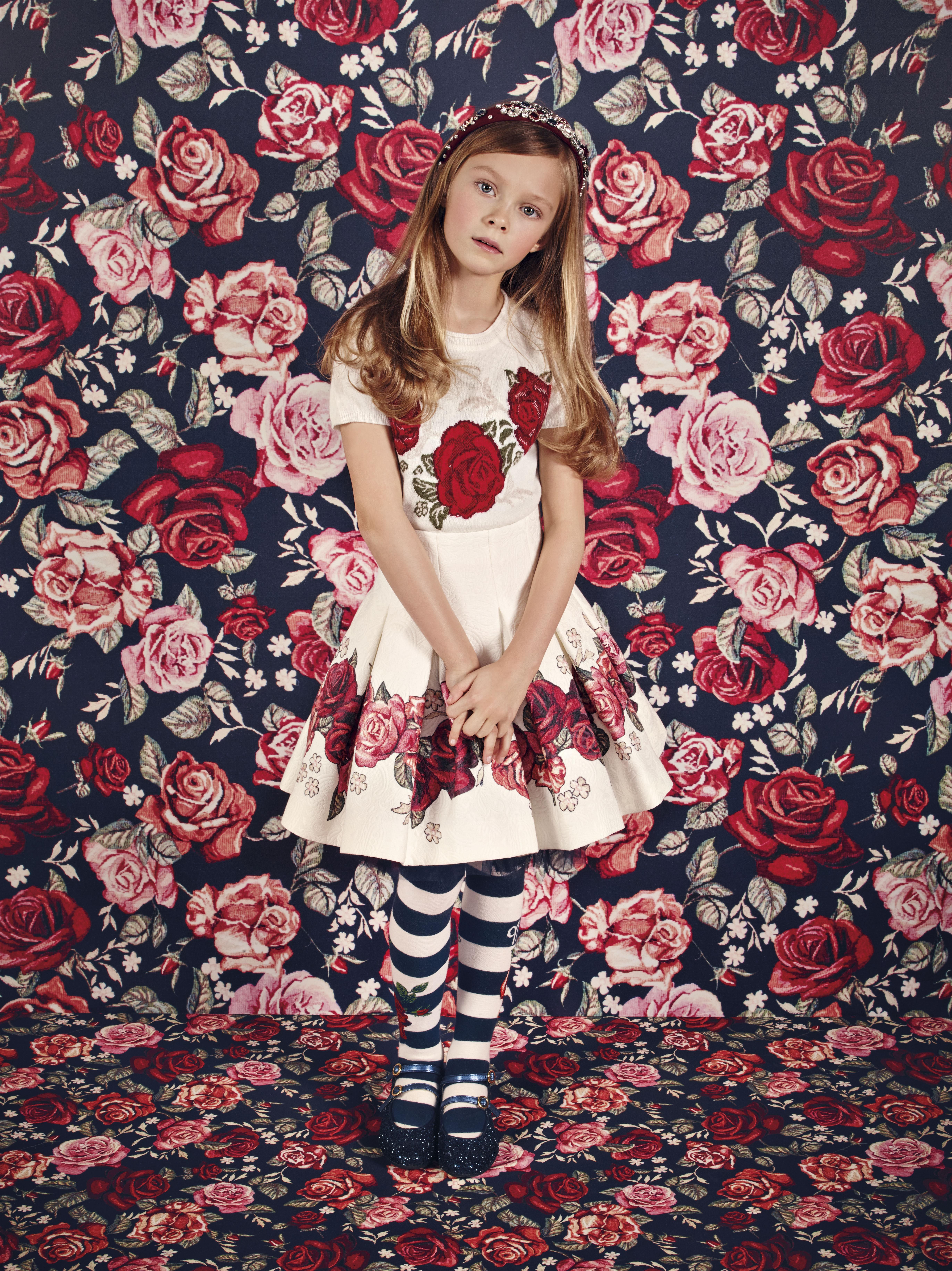 Fashion look from january 2016 featuring pink opaque tights round - Monnalisa Chic Fall Winter 2016 Monnalisa Fashion Kids Childrenswear Newcollection