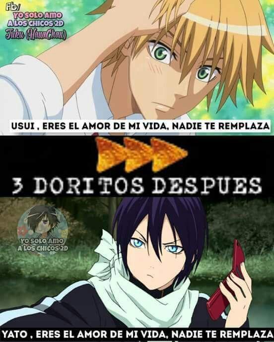 Los Dos Son El Amor De Mi Vida Junto Con Algunos Pocos Muchos Mas Haha Memes Memes Otakus Memes De Anime