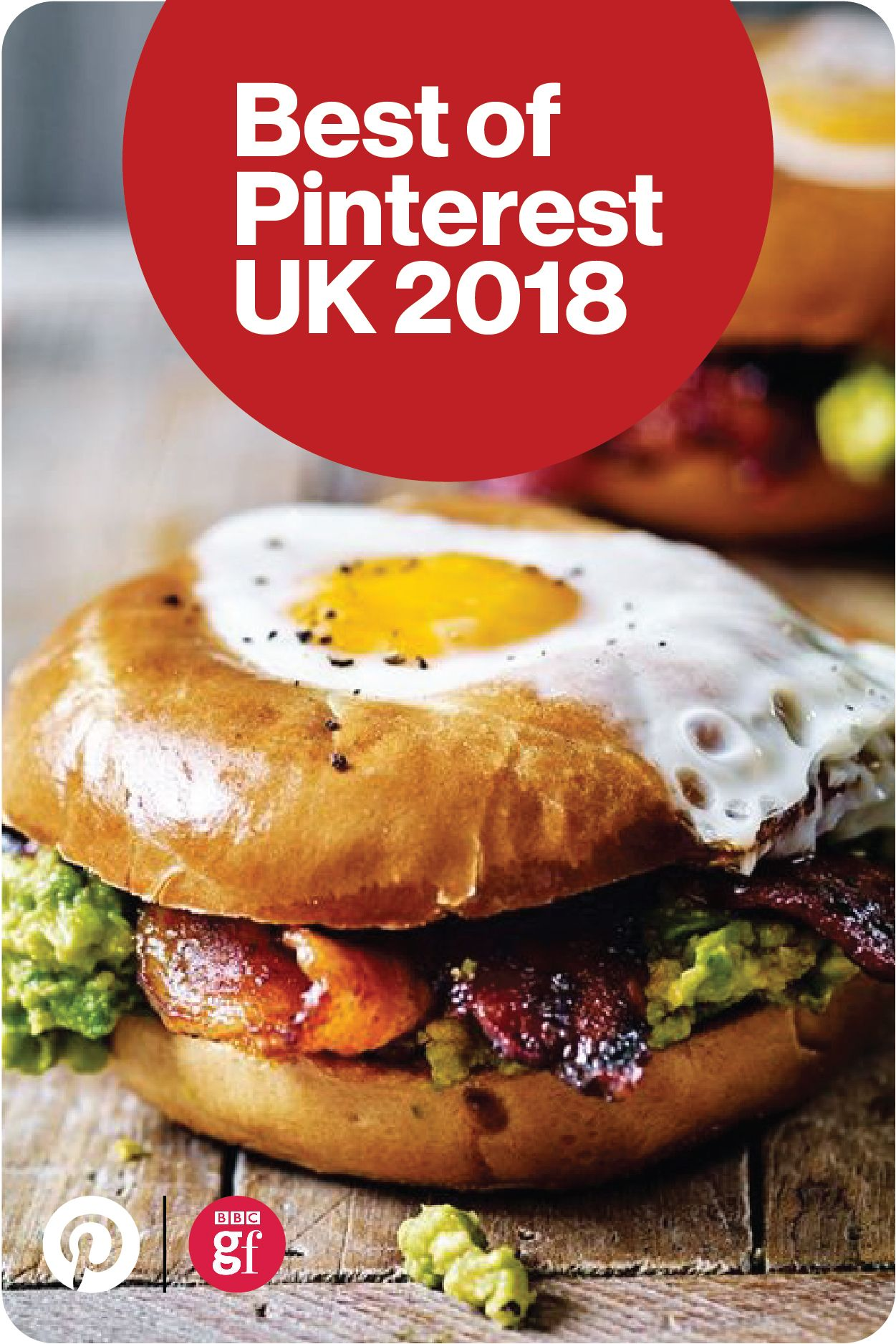 Egg in a hole with spicy bacon and guacamole by Tesco