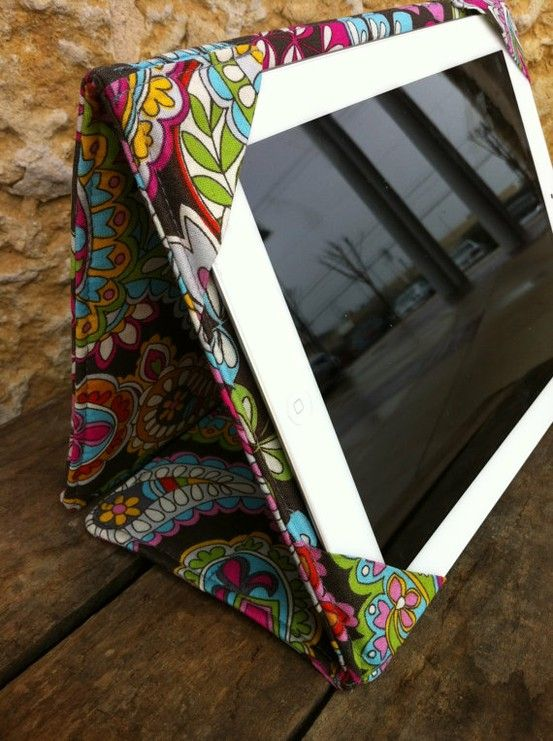 An attractive iPad case can add to the decor of a room. Verizon ...