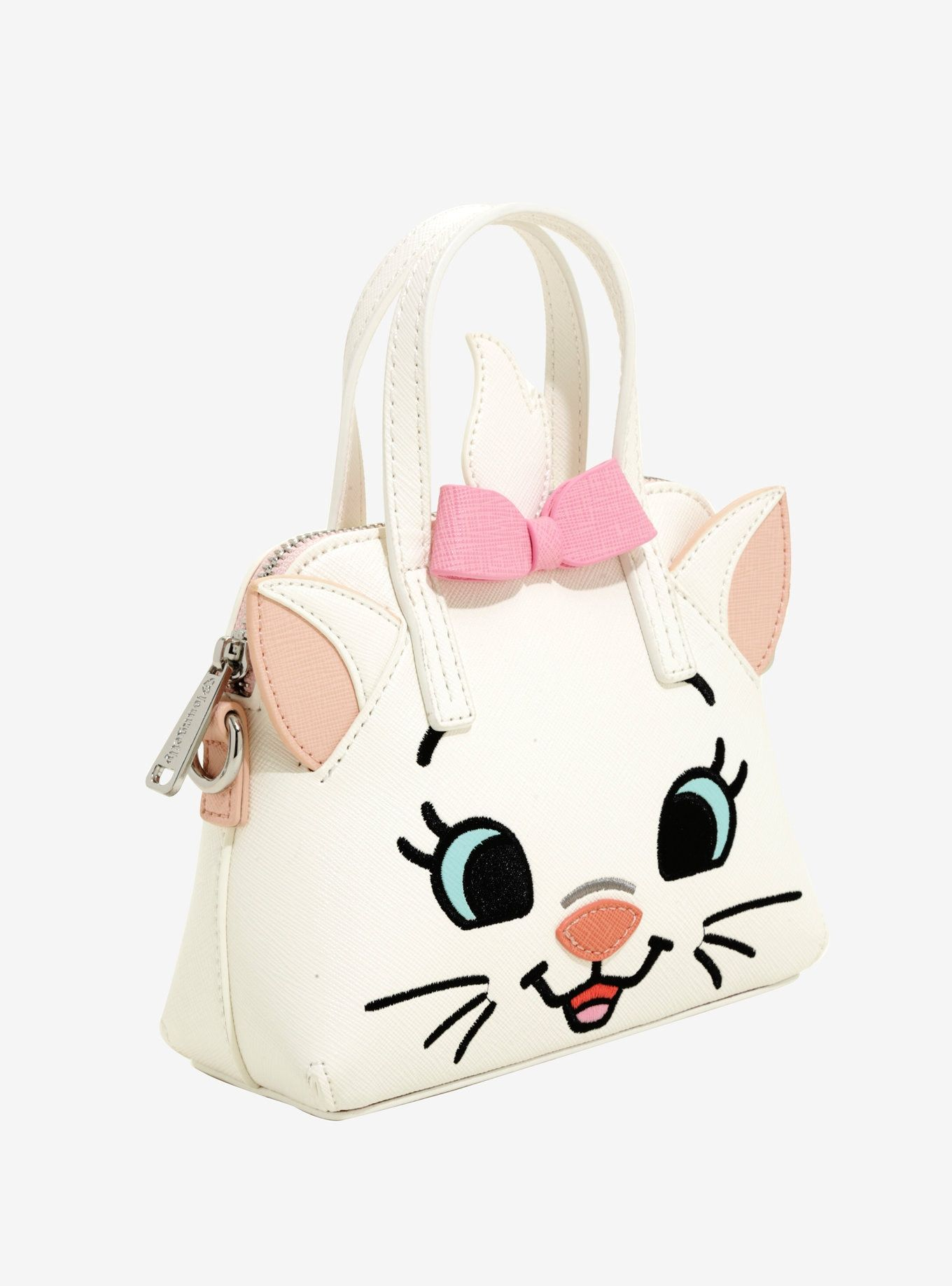 Loungefly Disney The Aristocats Marie Micro Crossbody Bag  c22fde5c2fd17