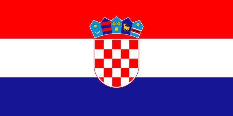 Croatie Drapeaux Nationaux Drapeau Croatie