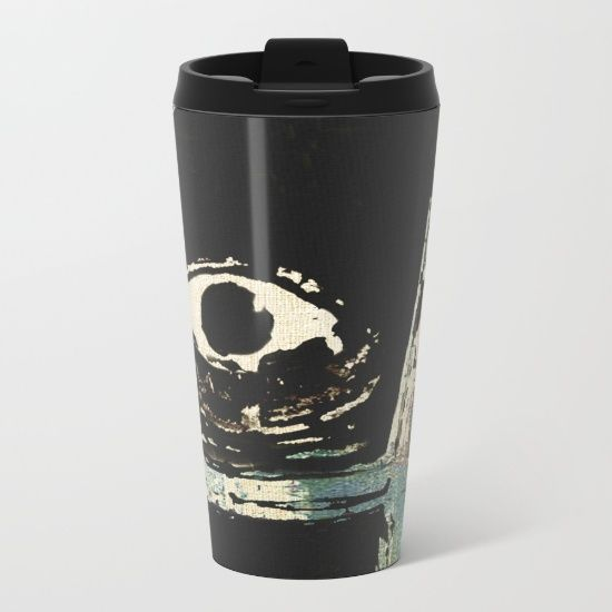 Zumbi dos Palmares 2 Metal Travel Mug