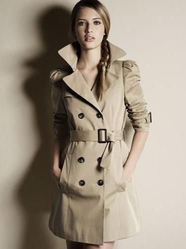 Szary Plaszcz Trencz Zara Roz 36 S 5586238668 Oficjalne Archiwum Allegro Trendy Fall Coat Fashion Trends Winter Trench Coat