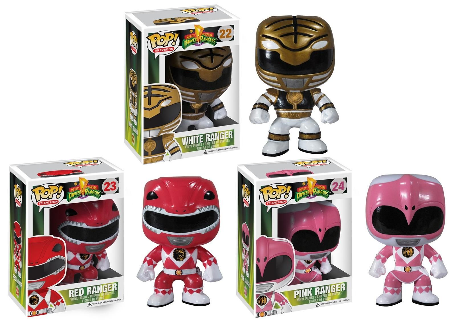 Po po power ranger pages to color - Mighty Morphin Power Rangers Pop Television Series 1 By Funko White Ranger Red