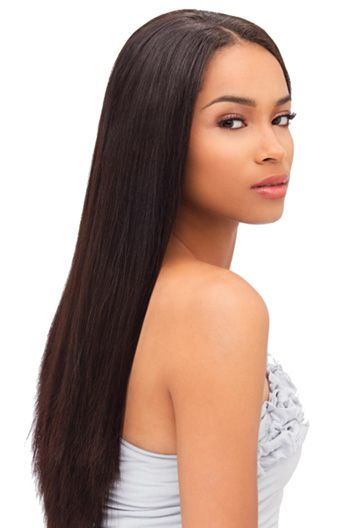 16 Inch Silky Straight Malaysian Virgin Hair Full Lace Wigs Straight Weave Hairstyles Straight Hairstyles Straight Hair Extensions