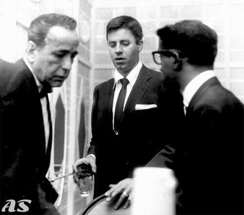 Humphrey Bogart, Jerry Lewis, and Sammy Davis Jr.