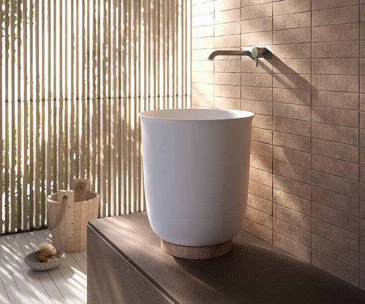Design Bagno 2016 : Collezione bagno in argilla hammam by rexa design bagni & co