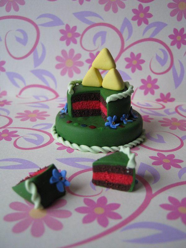 Image detail for -Zelda cake by ~Vocalist-RedSpade on deviantART