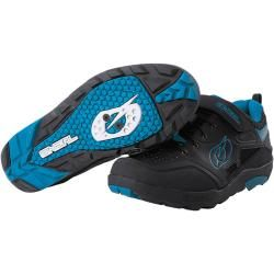 Oneal Traverse Spd Schuhe Schwarz Blau 37 O'Neal