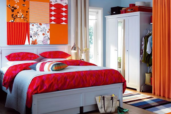 Art Colors Wall Home Ikea Bedroom Design Contemporary Bedroom Decor Bedroom Colors