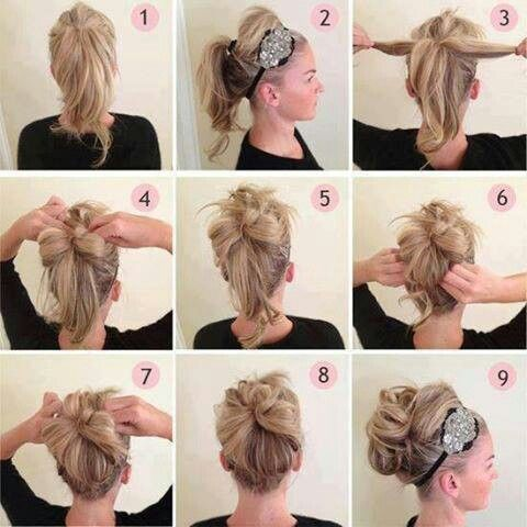 My Homecoming Updo Great For Medium Length Hair I M Such A F Hi