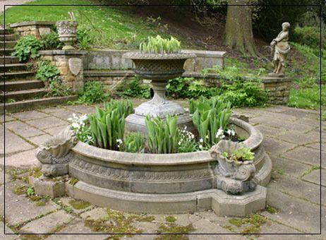 classical garden ornaments | Small Windsor Garden Fountain Pool Surround (WP1B)