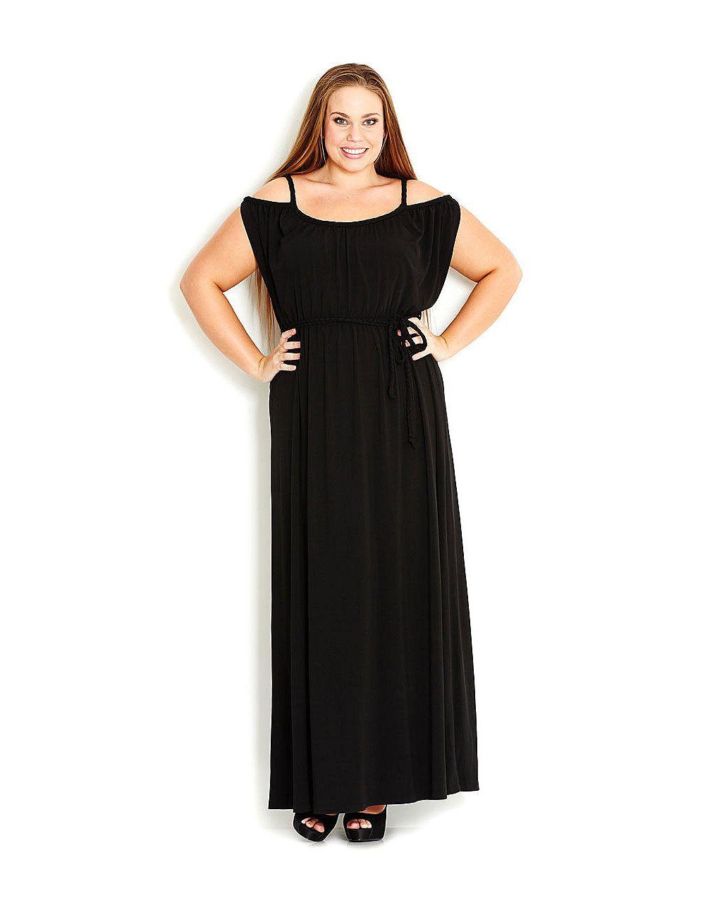 Off Shoulder Maxi Dress Sonsi Plus Size Fashion Maxi Dress Curvy Maxi Dress [ 1280 x 1000 Pixel ]