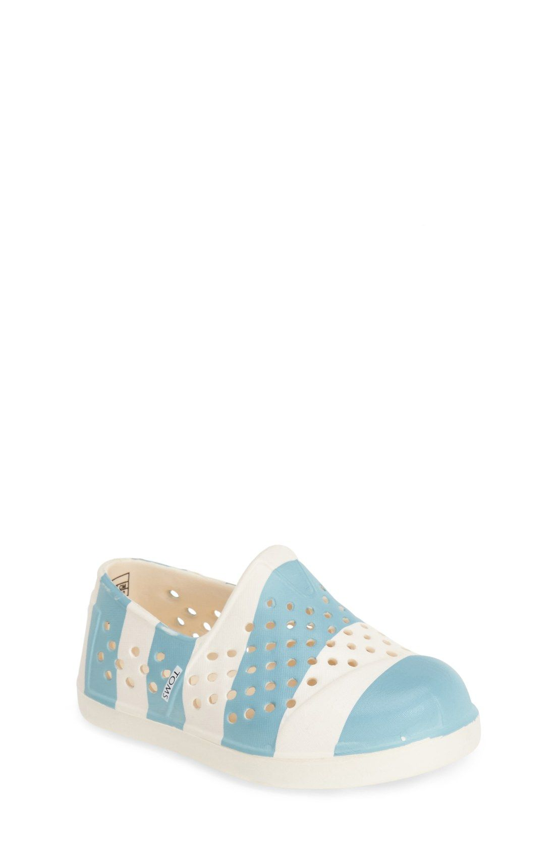 d1183025871 TOMS  Romper - Tiny  Perforated Water Friendly Slip-On (Walker   Toddler)