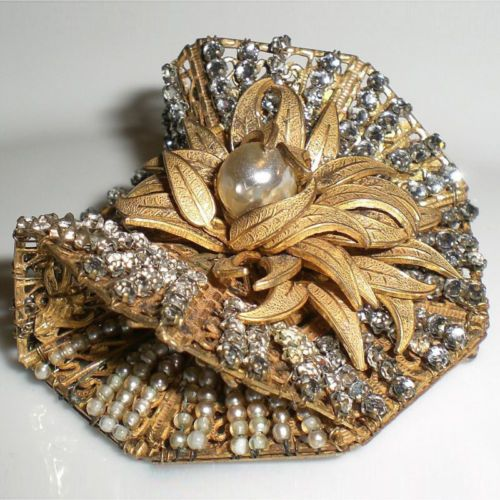 Astounding Multi Dimensional Brooch By Miriam Haskell
