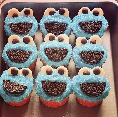 cookie monster I could make these