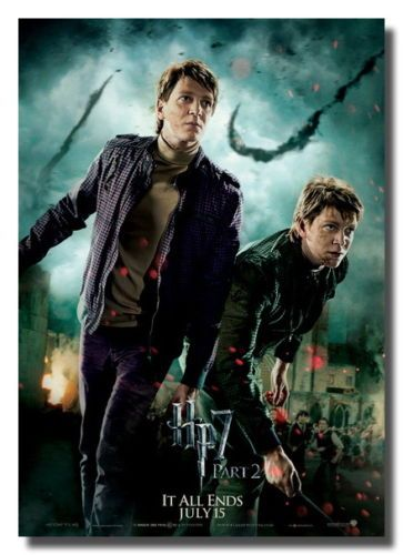 Fred And George Weasley Harry Potter Poster Fred And George Weasley George Weasley