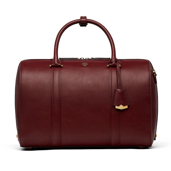 MCM Essential Boston Bag In Smooth Leather ( 1 99fa85e0d09bd