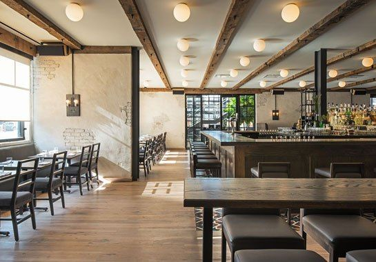 Chicago s hip new restaurant the dawson industrial chic