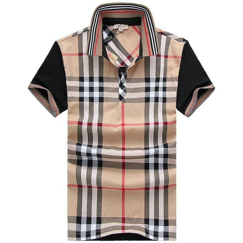 Burberry Men T-Shirt 2014-2015 BTS046(2 colors)
