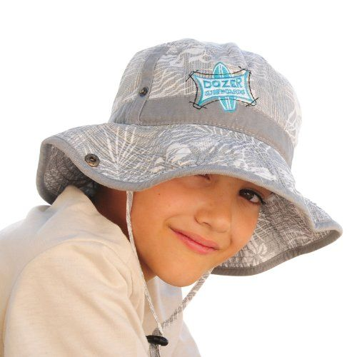 Dozer Boys Sun Hat Bucket Floppy Patrol Grey d5495890273