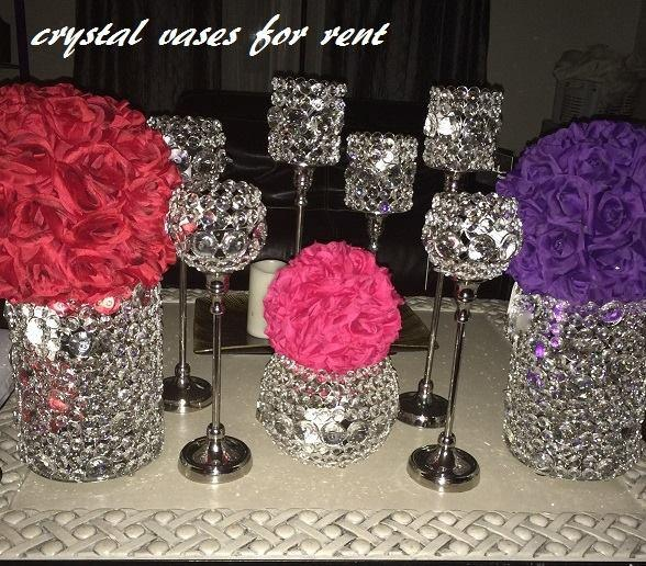 Beautiful Crystal Vases Centerpieces For Rent Crystal Vase Centerpieces Sweetheart Table Decor