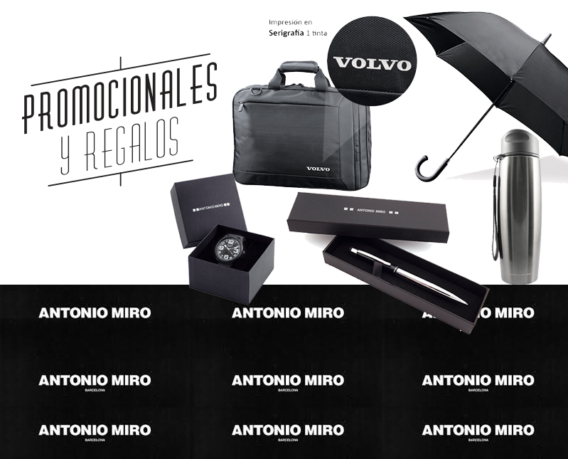 Tenemos la línea premium de Antonio Miro. Para esos regalos ejecutivos especiales. #promocionales y #regalos