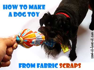 Tutorial Knotted Fabric Dog Toy Diy Dog Toys Dog Toys Sewing