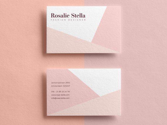 Business Cards, Business Card Template, Modern Business Card, Business Card Design, Fashion Designer, Minimalist Business Card, Social Media