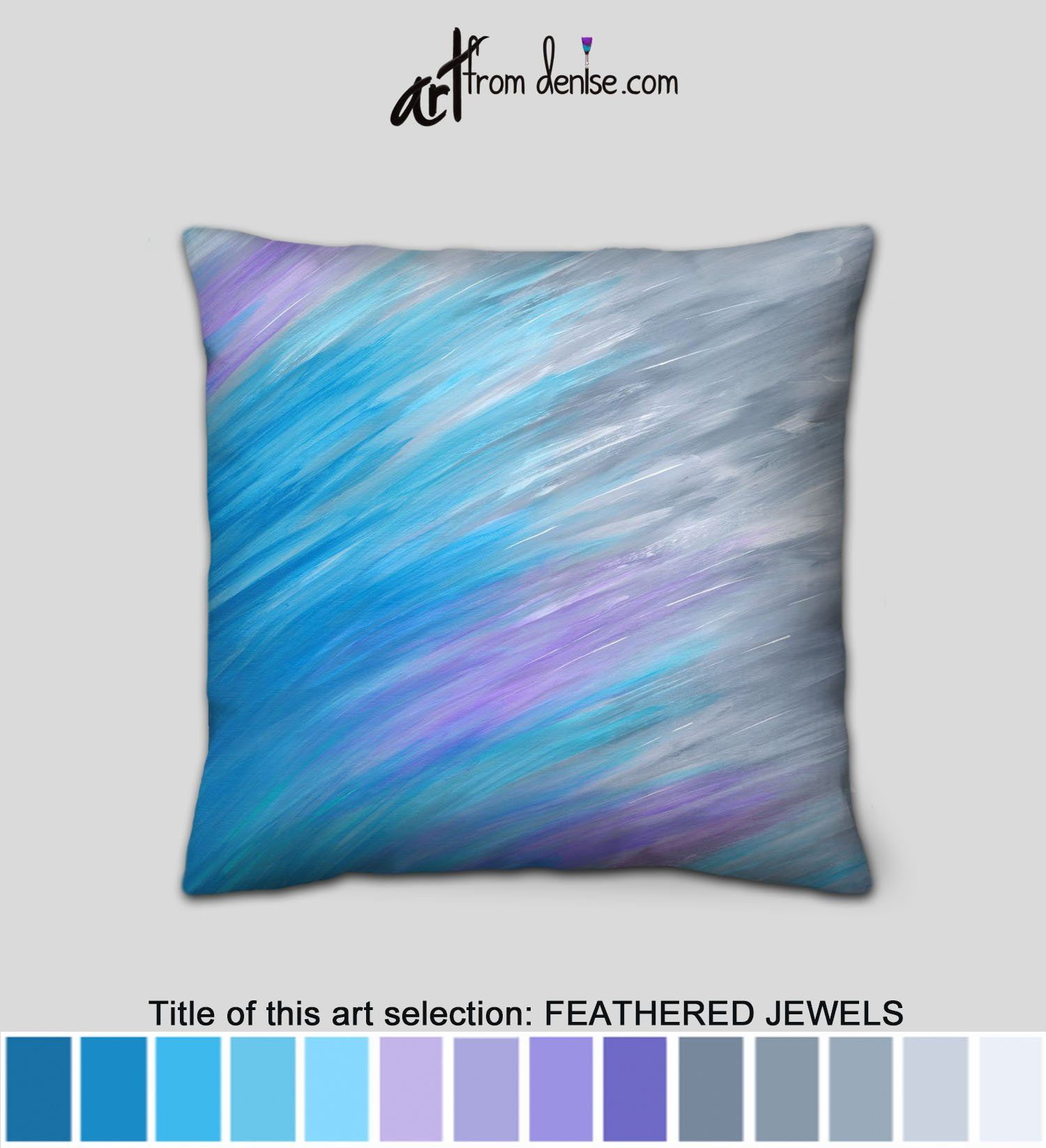 Lavender Gray Turquoise Blue Throw Pillows For Bed Decor Etsy In 2020 Blue Throw Pillows Blue Toss Pillows Throw Pillows Bed