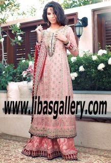 13194bdecc8 My Kind of Romance CORAL DIVINE Bridal Dress for Wedding and Special  Occasions-Known for her Anarkali style gown designs(a must-have among the  fashion ...