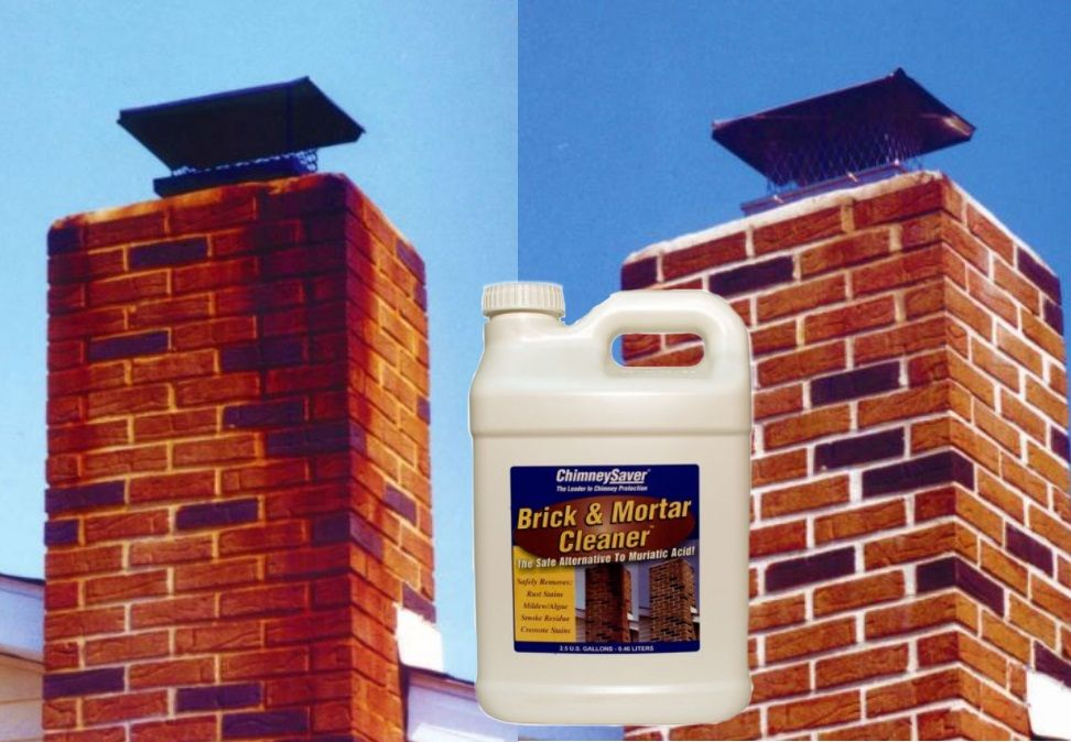 Brick And Mortar Cleaner How To Clean Brick Brick Clean Rust Stains