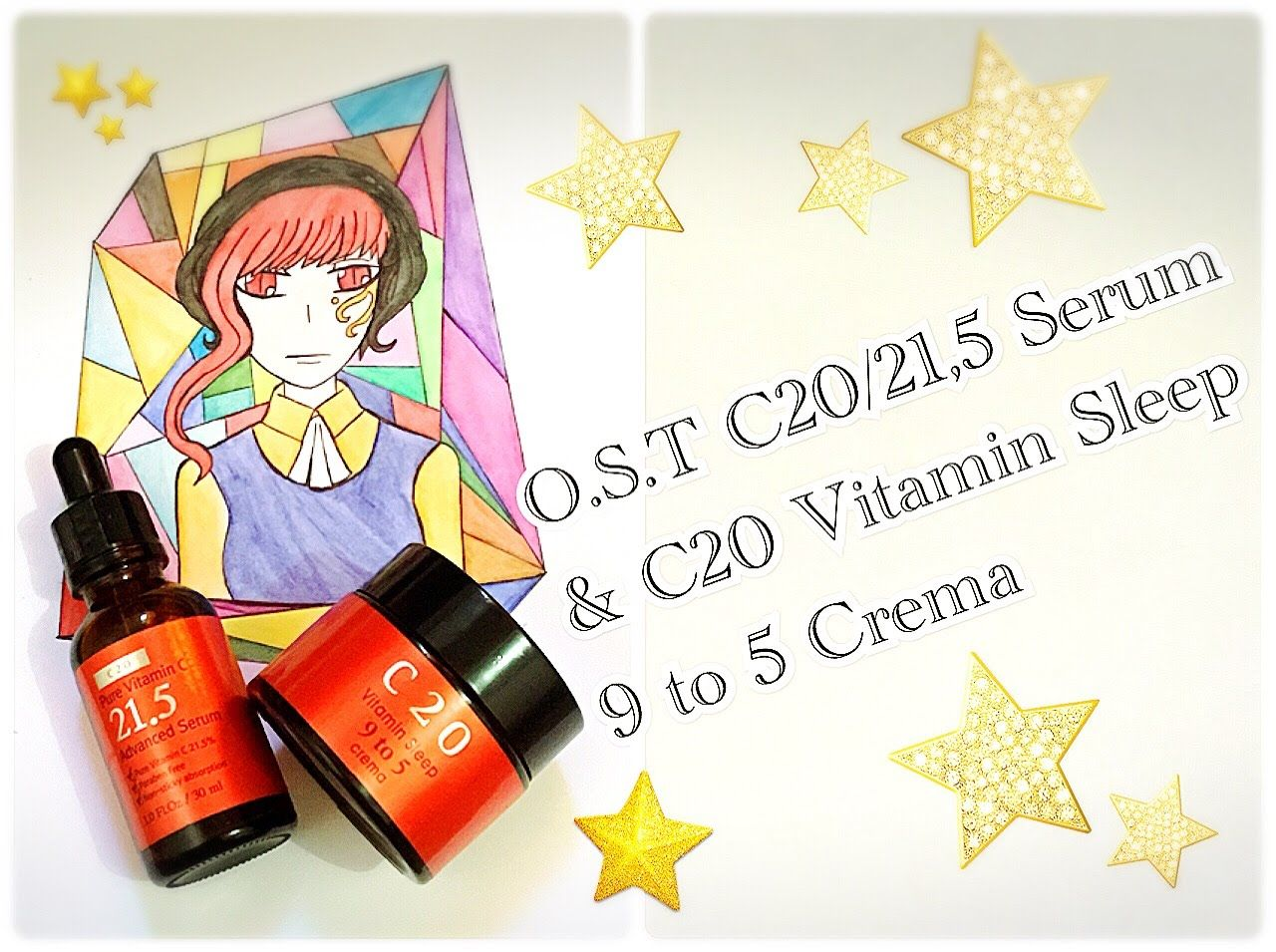O.S.T C20 / C21,5 Vit C Serum & C20 Vit Sleep Crema REVIEW! | Skincare R...