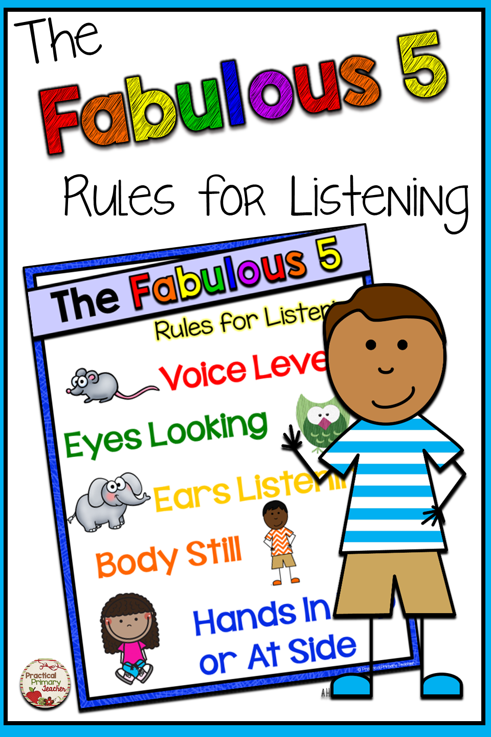 Listening Rules Chart Listening rules, Teachers toolbox
