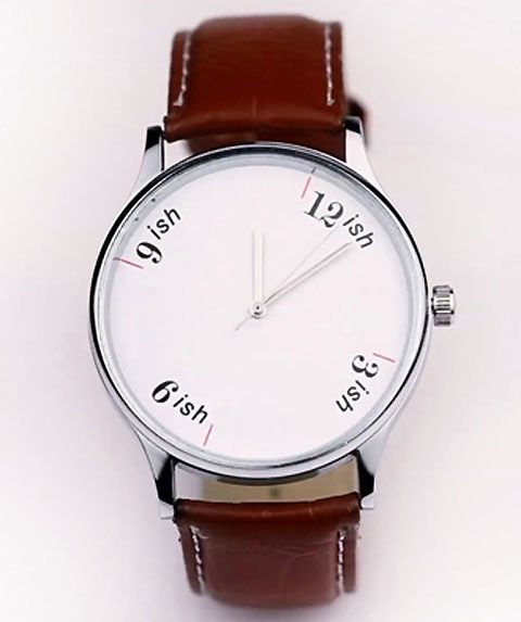 'ish watch' - because in India, time is not Science but an ART. And we know that art can never be rushed.