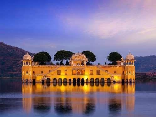 Image via CNTraveler.com - Getty;   Jal  Mahal, India