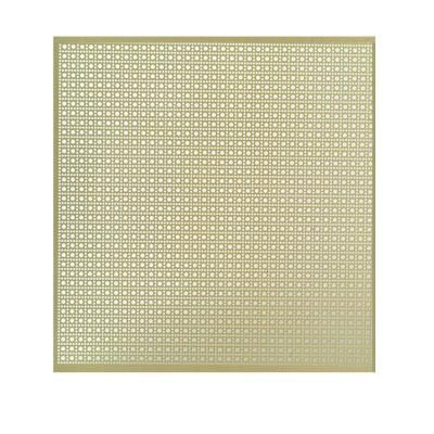 Md Building Products 12 In X 24 In Lincane Aluminum Sheet In Brass 56012 At The Home Depot M D Building Products Decorative Radiators Radiator Screen