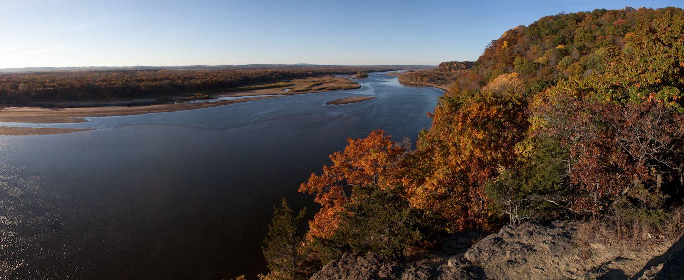 Ferry Bluff State Natural Area, near Sauk City, Wisconsin
